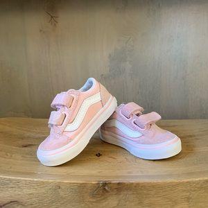 Vans toddler size 4 Baby Pink sneakers